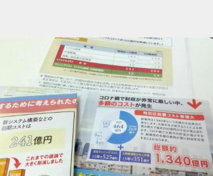 大阪都構想 コスト1340億円